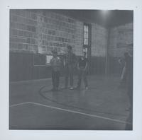 1965 Boys Doing Basketball Drills