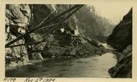 Lower Baker River dam construction 1924-11-05 Powerhouse excavation