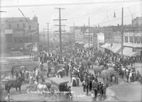 Circus day parade, Bellingham (Wash.)
