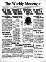 Weekly Messenger - 1922 November 24