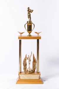 Baseball Trophy: Evergreen Conference Champions, 1962