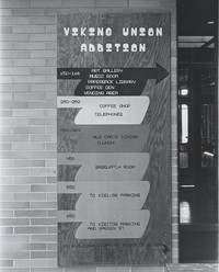 1975 Addition Directional Sign