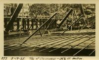 Lower Baker River dam construction 1925-03-19 Top of Sluiceways 36 1/2ft Section