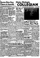Western Washington Collegian - 1951 January 19