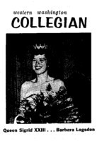 Western Washington Collegian - 1960 October 28