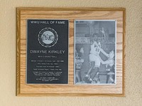 Hall of Fame Plaque: Dwayne Kirkley, Basketball, Class of 2010