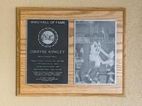 Hall of Fame Plaque: Dwayne Kirkley, Basketball, Class of 2010
