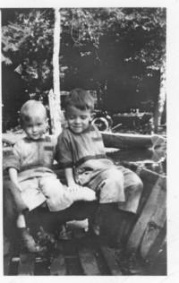 Two children