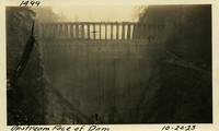 Lower Baker River dam construction 1925-10-20 Upstream View of Dam