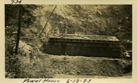 Lower Baker River dam construction 1925-06-13 Power House