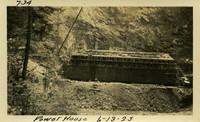 Lower Baker River dam construction 1925-06-13 Power House