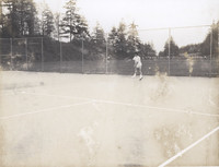 Person Playing Tennis