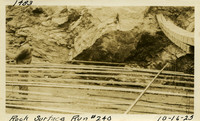 Lower Baker River dam construction 1925-10-16 Rock Surface Run #240
