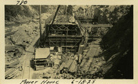 Lower Baker River dam construction 1925-06-18 Power House