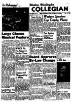 Western Washington Collegian - 1956 February 17