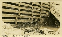 Lower Baker River dam construction 1924-11-11 Cofferdam