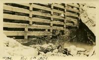 Lower Baker River dam construction 1924-11-11 Cofferdam