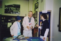 2007 Reunion--Dorothy Stimpson and Ed Stimpson with Marian Alexander in Special Collections