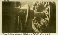 Lower Baker River dam construction 1925-08-23 Regulating Arms Turbine #2N
