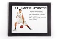 Basketball (Men's) Photograph: #1 Grant Dykstra, Consensus All-American, leading scorer in WWU history, 2005/2006