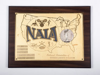 Golf (Men's) Plaque: NAIA Champion Medalist, William Wright, 1960