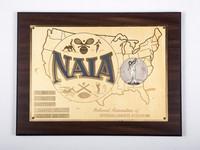 Golf (Men's) Plaque: NAIA Champion Medalist, William Wright, 1960