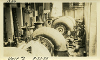 Lower Baker River dam construction 1925-08-22 Unit #2