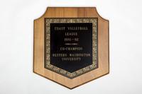 Volleyball (Women's) Plaque: Coast league co-champion, 1981/1982