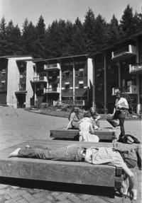 1970 Fairhaven Campus Students in Quad