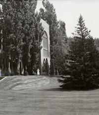 1950 Library: Southwest Facade