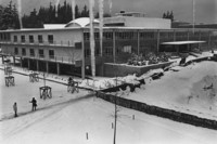 1971 Carver Gym: Snowstorm