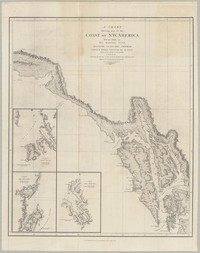 A Chart Showing Part of the Coast of N.W. America with the Tracks of His Majesty's Sloop Discover and Armed Tender Chatham