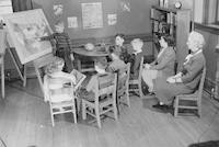 1942 Fourth Grade Students With Miss Kinsman And Miss Purnell (Class 4-A)