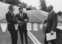 1971 College By-Pass Ribbon Cutting