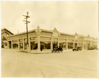 Lewis Motor Company Building at southeast corner of Forest and Holly streets, Bellingham, WA