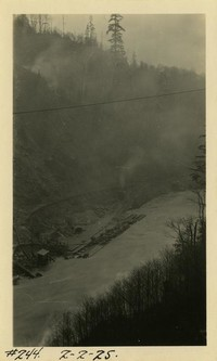 Lower Baker River dam construction 1925-02-02