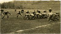 Fairhaven High School football team practice