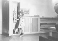 1944 Cleaning Supplies Cupboard (Miss Kinsman's Room)