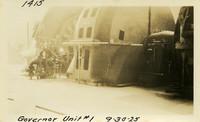 Lower Baker River dam construction 1925-09-30 Governor Unit #1