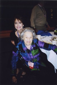 2007 Reunion--Danne (McLeod) Swartwood and Jean (Wellington) McLeod at the Banquet