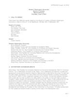 WWU Board of Trustees Meeting Records 2016 June