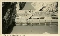 Lower Baker River dam construction 1924-09-06 Coffer dam