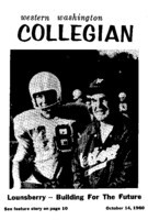 Western Washington Collegian - 1960 October 14
