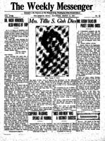 Weekly Messenger - 1919 March 8