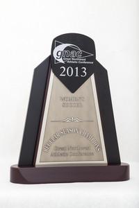 Soccer (Women's) Trophy: GNAC Regular season Champions, 2013