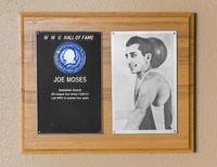Hall of Fame Plaque: Joe Moses, Men's Basketball (Guard), Class of 1985
