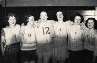 1948 Basketball Girls