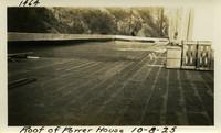 Lower Baker River dam construction 1925-10-08 Roof of Power House