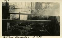 Lower Baker River dam construction 1925-08-07 Tail Race Excavation