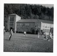 1965 Boys Playing Flag Football